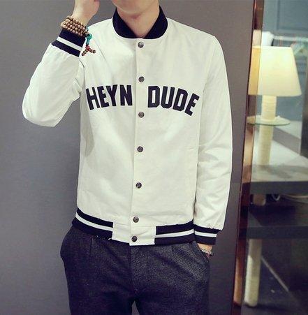 韓國 薄款 外搭 外套 CACO 棒球外套 潮流 MA1 軍外套 SQ GU 平價韓國 服飾
