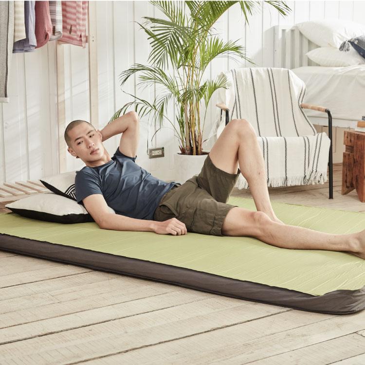 ADISI 10cm 3D雙人自動充氣睡墊7819-528R / 城市綠洲(登山露營用品.睡袋.帳篷.露營睡墊)