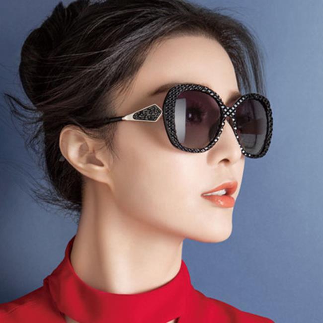50%OFF【J021169GLS】2017新款時尚款太陽鏡 潮流百搭墨鏡 女士歐美大框太陽眼鏡