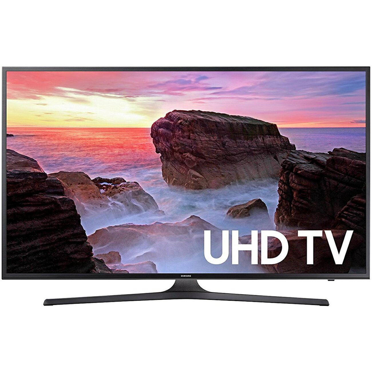 "Samsung UN65MU6300FXZA 65"" 4K HDR Ultra HD Smart LED TV (2017 Model) 0"