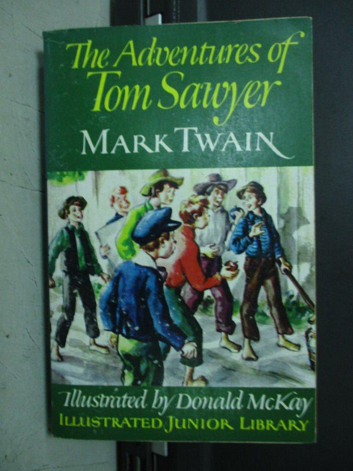 【書寶二手書T5/原文小說_LOI】The Adventures of Tom Sawyer_Mark Twain