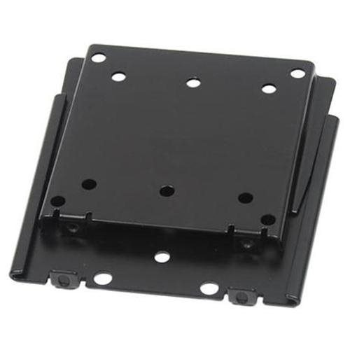 "VideoSecu Flat TV Monitor Wall Mount Bracket for 15 17 19 20 22 24 27"" LCD LED Flat Panel Screens Displays - 66lbs/ VESA 75/100mm Black 1WY 2"