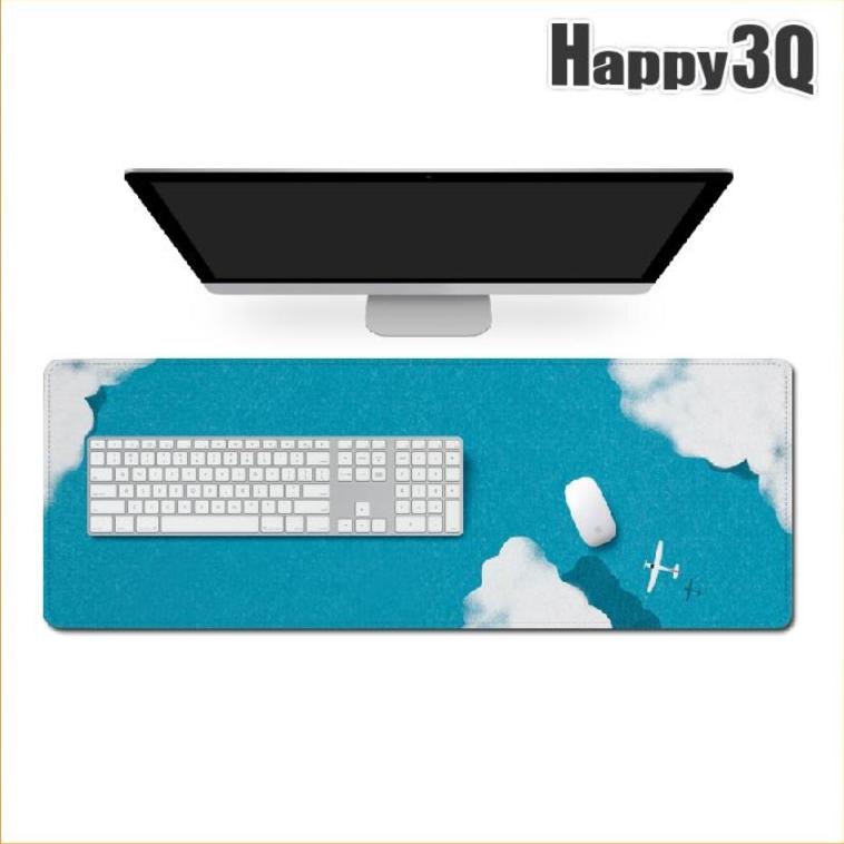 【加大/防水】小清新風滑鼠墊 桌墊 電腦墊 鍵盤墊 3mm 厚泡棉柔軟手感-多款【AAA3790】