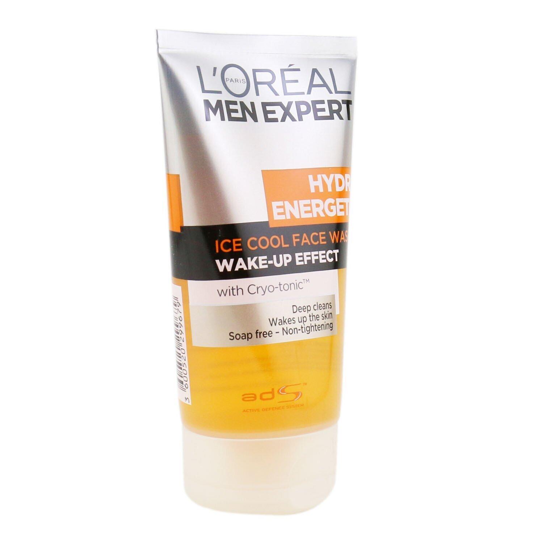 萊雅 L'Oreal - 男士勁能醒膚泡沫潔面凝膠Men Expert Hydra Energetic Foaming Cleansing Gel