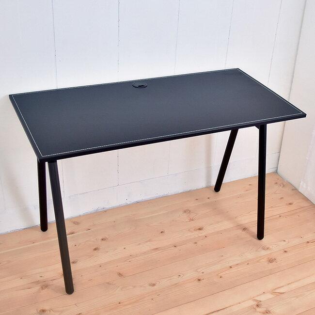 【凱堡】馬鞍工作桌電腦桌(附電線孔蓋) 桌子書桌 B15046