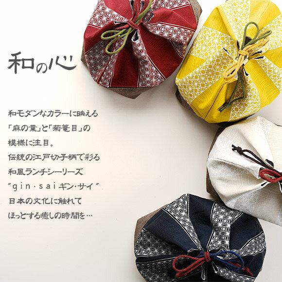 日本製 gin˙sai 印花保溫保冷便當袋 束口袋  /  sab-2029   / 日本必買 日本樂天代購直送(1782) /  件件含運 1