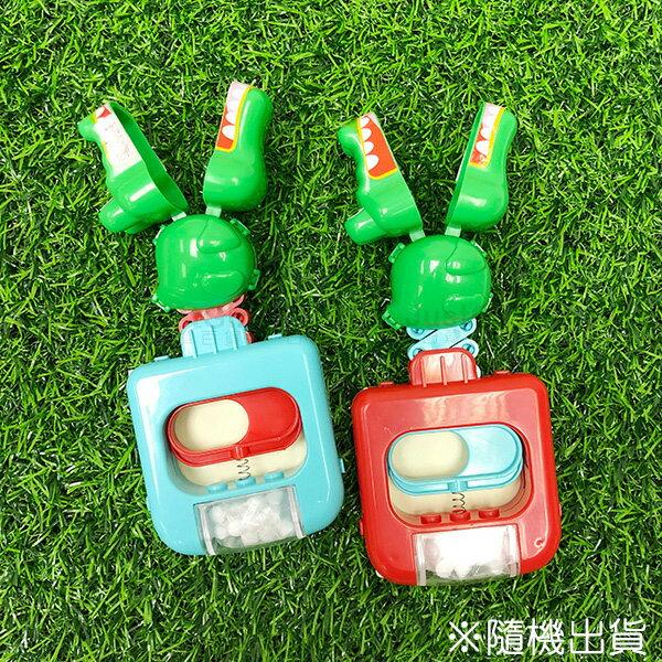 伸縮小鱷魚汽水糖糖果玩具食品日本製造進口JustGirl