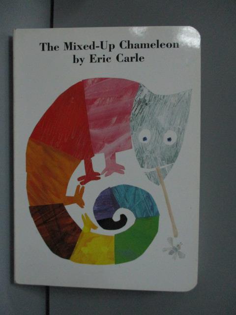 ~書寶 書T5/語言學習_LNS~The Mixed~Up Chameleon_Carle