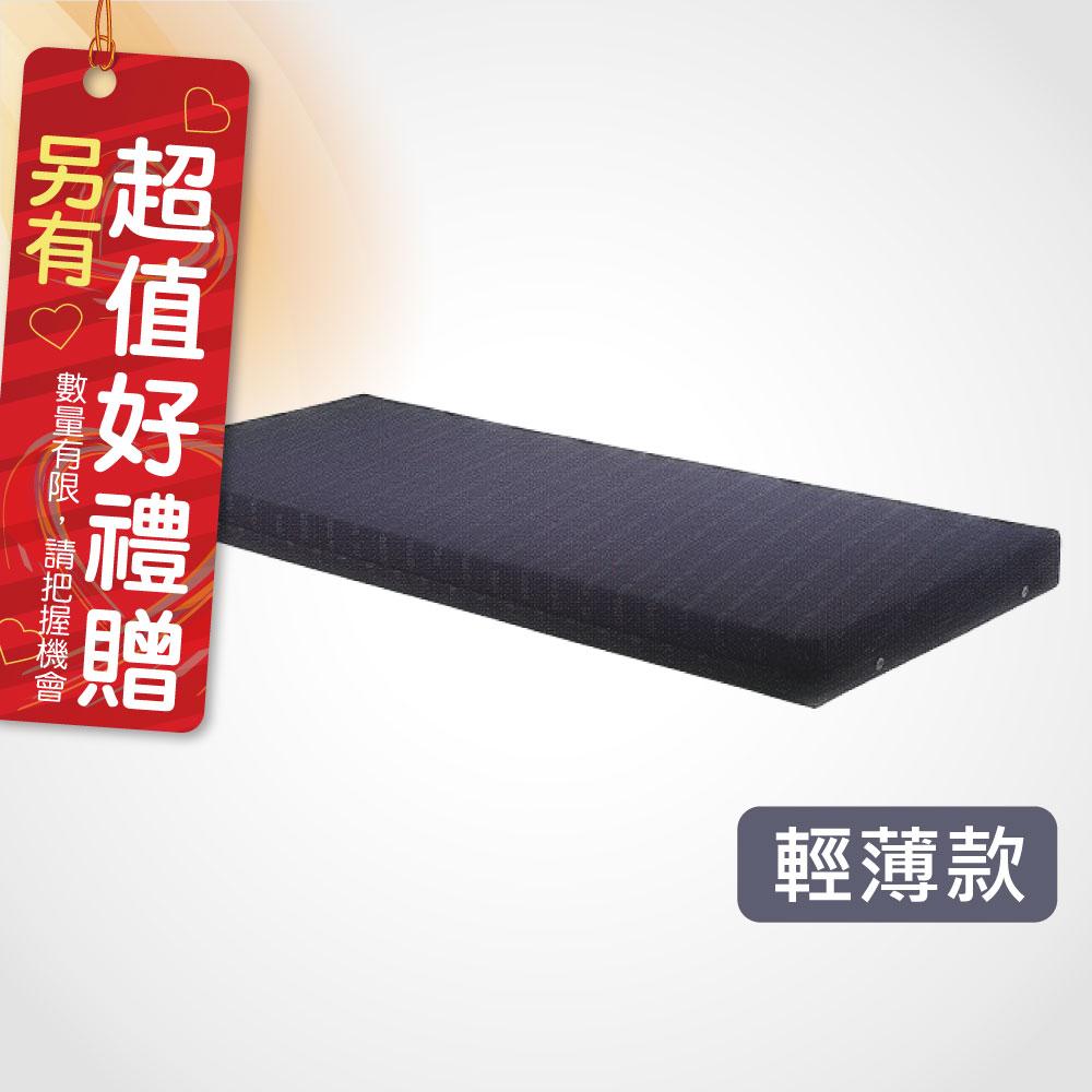 電動床病床護理床墊 L192xW86xH5cm(薄) 電動床專用 日式Q床墊 高密度蛋型雙面軟硬優質床墊 贈 床包一組