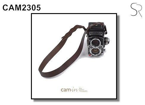 Nikon-Mall:【Cam.in】潮流相機背帶型號:CAM2305顏色:深咖穿孔