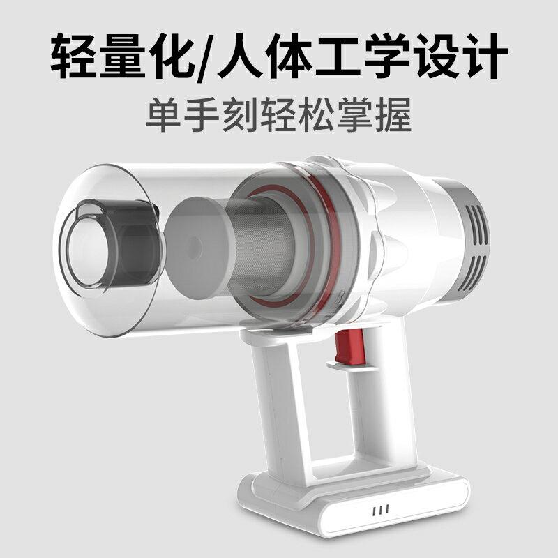 寶家麗無線吸塵器家用小型強力大功率手持式吸貓毛靜音除螨BW520 小山好物
