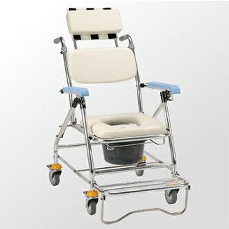 均佳 鋁合金背可調收合洗澡便器椅 JCS-207