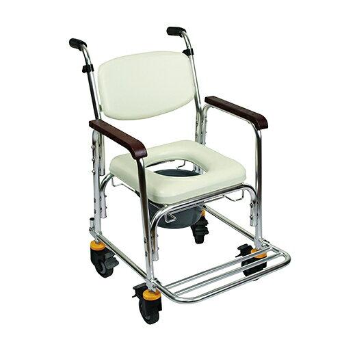 均佳 鋁合金有輪不可收便器椅 JCS-205