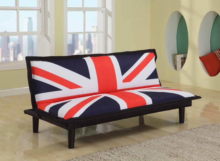 !新生活家具! 布沙發床 英國國旗 三人位沙發床 帆布材質 防潑水 套房出租 美式 復古《英倫風》 非 H&D ikea 宜家