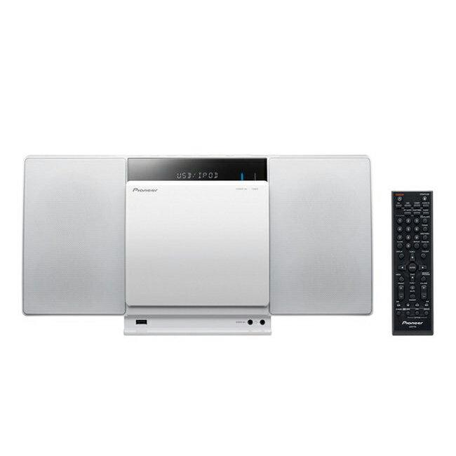 【Pioneer先鋒】藍牙薄型多媒體撥放音響系統/X-SMC01BT-W