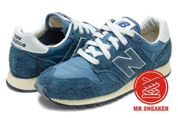 ☆Mr.Sneaker☆NEWBALANCE520U520Vintage復古NIGO著用藍綠男女段