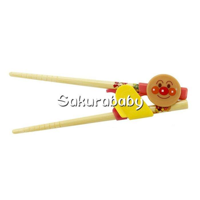 麵包超人 幼兒學習筷 附盒 M尺寸 _櫻花寶寶