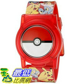 [美國直購] Pokemon Kids' POK3026 Digital Display Analog Quartz Multi-Color Watch 神奇寶貝 皮卡丘 手錶