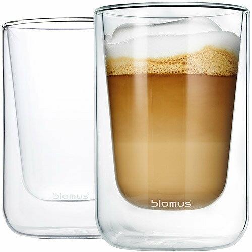 《BLOMUS》Nero雙層玻璃杯2入(250ml)