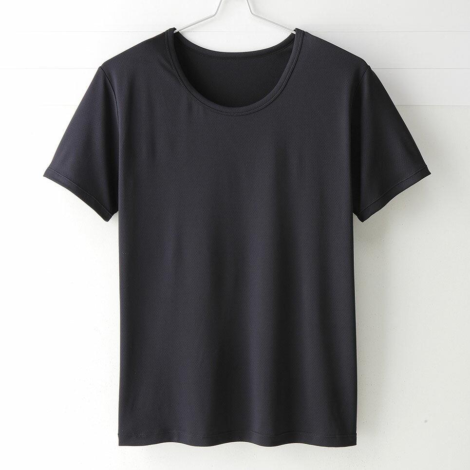~MIGER密格內衣~型男超快乾吸排機能圓領短袖衫~透氣網眼  黑 ~ 製~ 編號:301