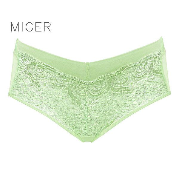 ~MIGER密格內衣~綺麗蕾絲中低腰三角內褲~ 製~ 編號:6932