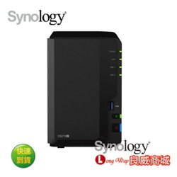 Synology 群暉 DS218+ 網路儲存伺服器 DS218-PLUS