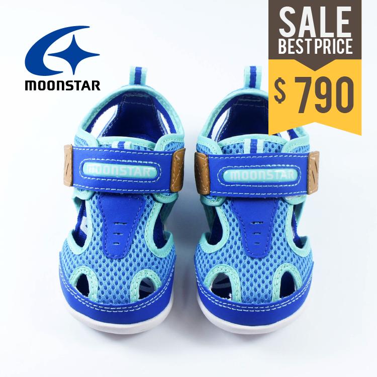 BitBit童鞋▸ Moonstar  12.5~14.5CM  夏日探險・護趾速乾涼鞋