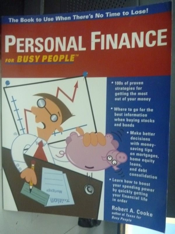 【書寶二手書T3/投資_WGH】Personal Finance for Busy People