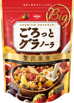 【橘町五丁目】日清早餐綜合穀片-豪華果實-500g