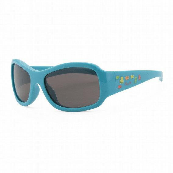 【淘氣寶寶】義大利CHICCO兒童專用太陽眼鏡24m+海底世界藍