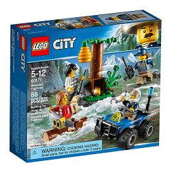 樂高積木LEGO《 LT60171 》2018 年 CITY 城市系列 - 山中逃犯