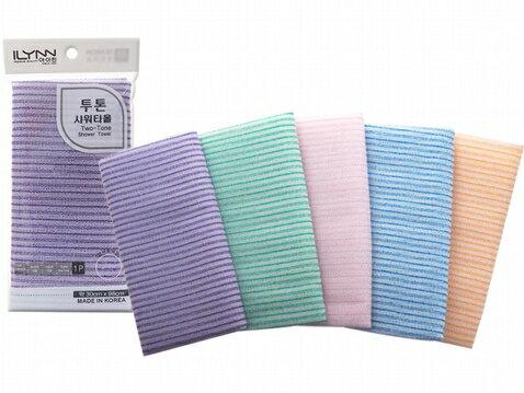 韓國搓澡巾30x98cm(1條入)  顏色隨機出貨【小三美日】◢D060432