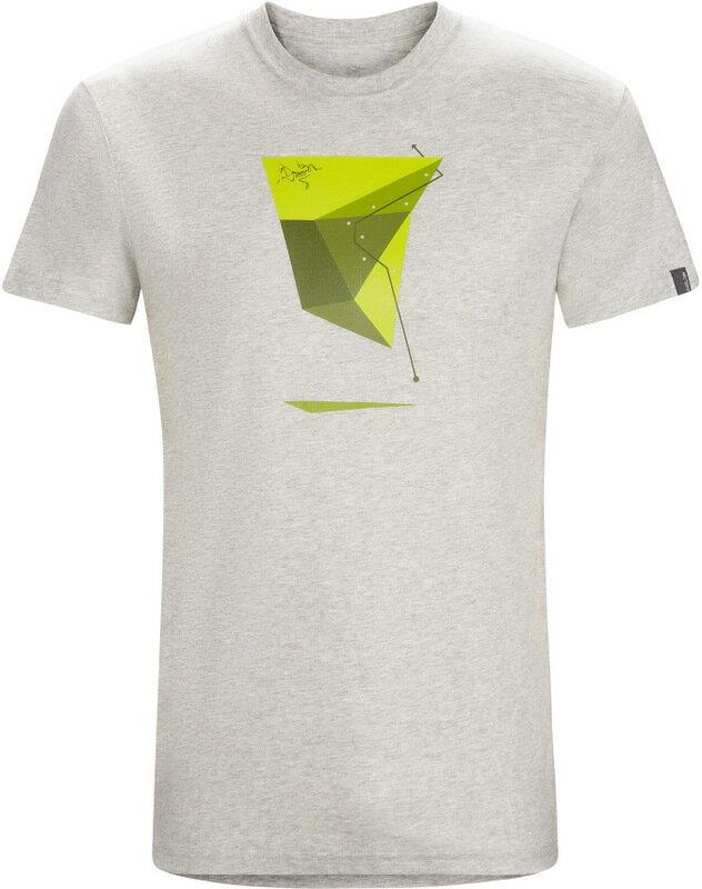 Arcteryx 始祖鳥/品牌T恤/穿搭/短袖棉T/圓領T恤 17455 Geo Sport 男款 石南淺灰