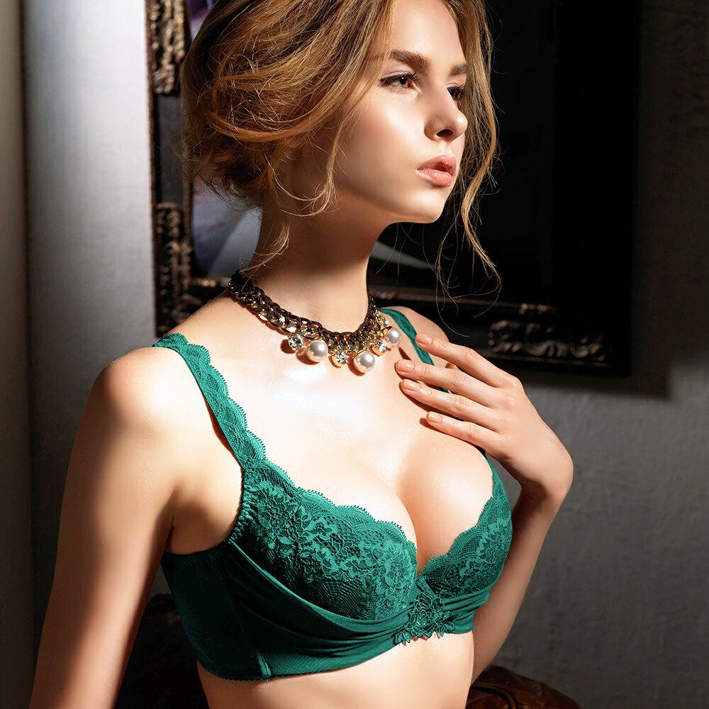 【Favori】魔力 美塑系列BCD罩杯內衣 (時尚綠) 1