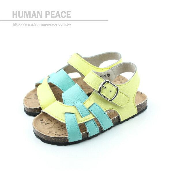 涼鞋 黃 小童 no128