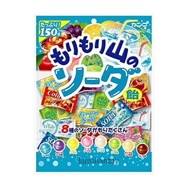 【崑山玩具X日韓精品】甘樂八種蘇打水果糖