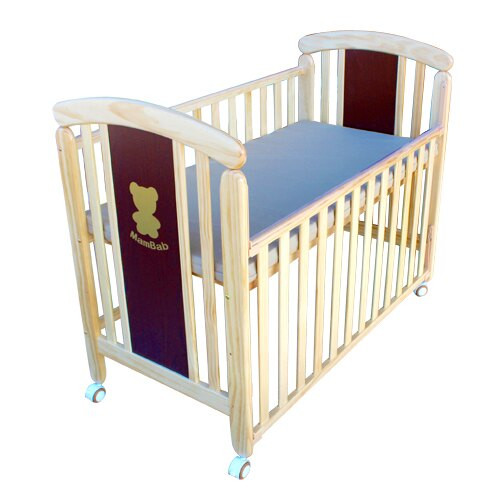 Mam Bab夢貝比 - 親親熊嬰兒床 台規中床 + 蝴蝶寢具八件組 加贈3D透氣床墊! 3