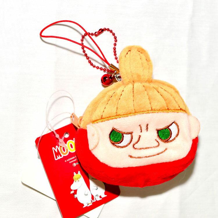 MOOMIN 嚕嚕米 小不點亞美 鈴噹吊飾 錢包 日本正版商品
