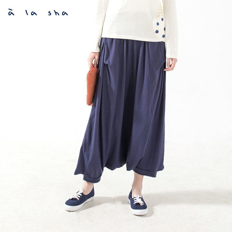 a la sha enco 房子窗戶吊帶裙褲(吊帶可拆)