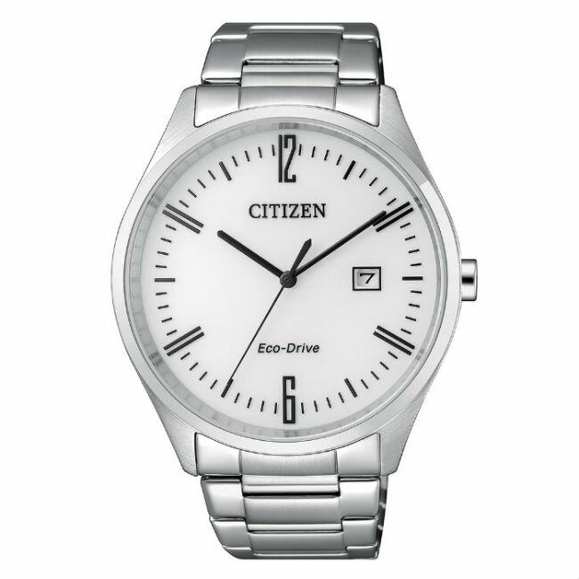 CITIZEN星辰錶 BM7350-86A 現代簡約光動能腕錶 / 白面42mm - 限時優惠好康折扣