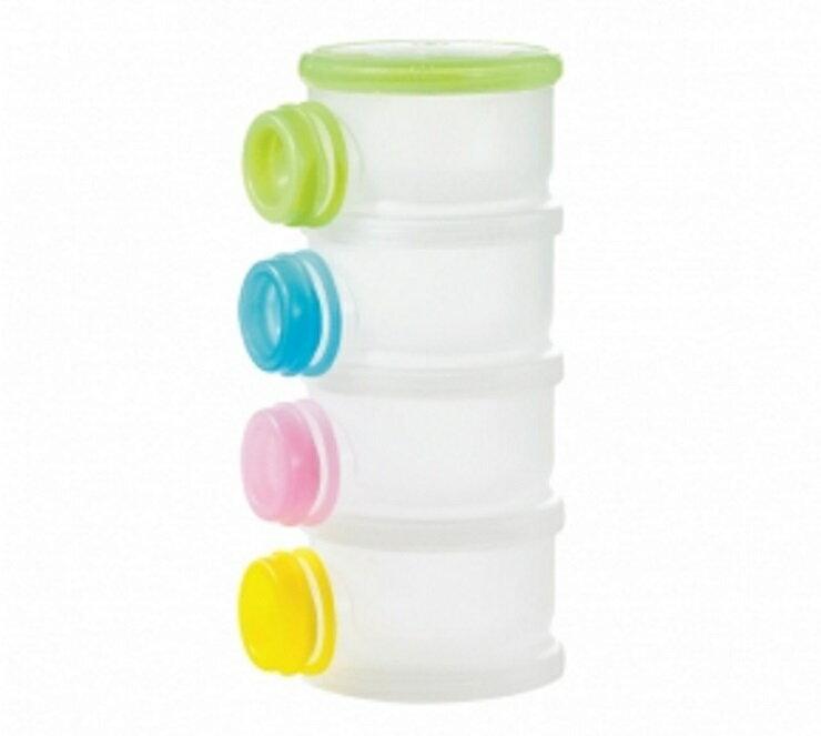 【寶貝樂園】小獅王辛巴溜滑梯專利衛生奶粉盒