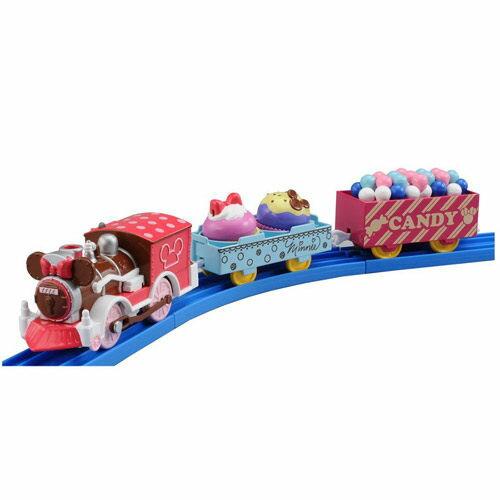 【 TAKARA TOMY 】Disney x PLARAIL 米妮夢幻復古火車