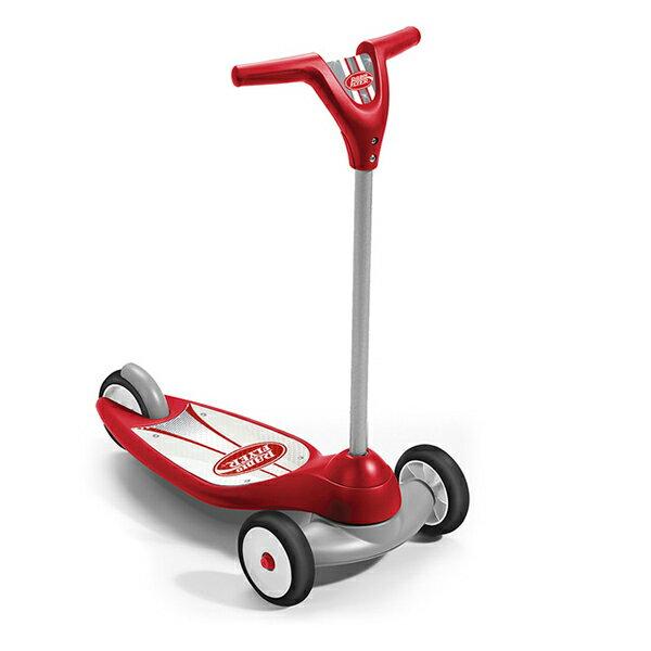 美國【RadioFlyer】紅行星三輪滑板車
