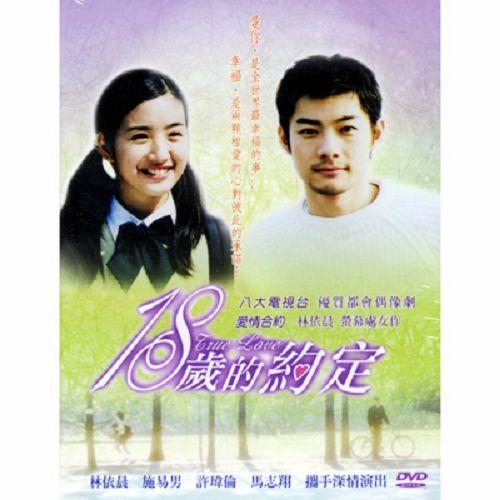 18歲的約定DVD (全21集) 施易男/林依晨/許瑋倫