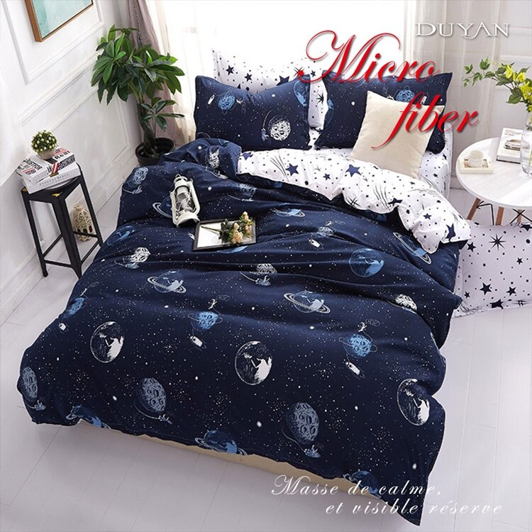 《DUYAN 竹漾》天絲絨單人/雙人/加大兩用被床包組【星際大戰】 台灣製 單人 雙人 加大 床包 鋪棉兩用被