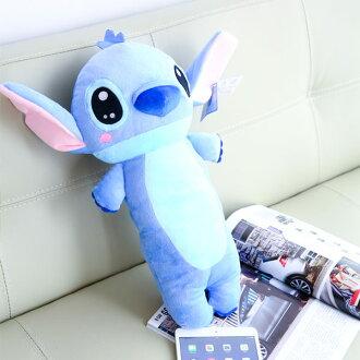 正版史迪奇長型抱枕 Stitch 星際寶貝 午安枕 午睡枕 抱枕 枕頭 靠墊 娃娃 玩偶 迪士尼 布偶 玩具 【B060338】