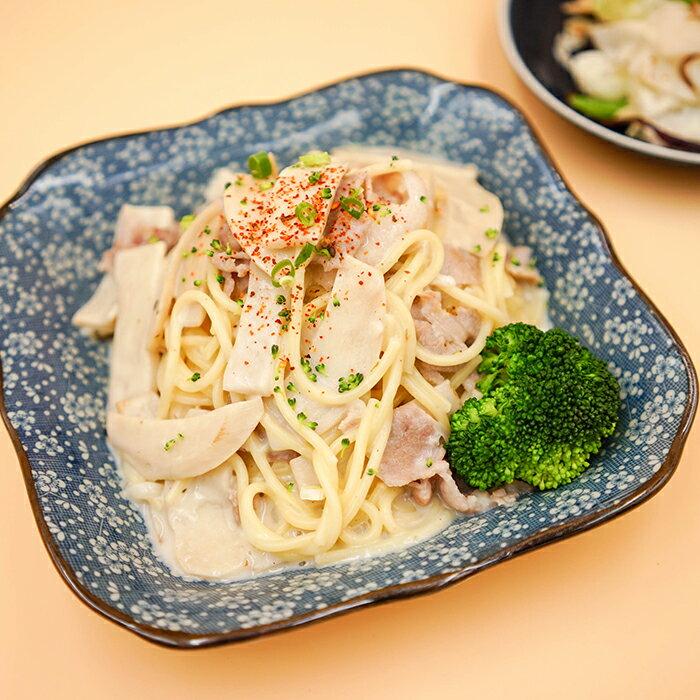 香草白醬菇菇雞燉飯套餐(附焗烤)