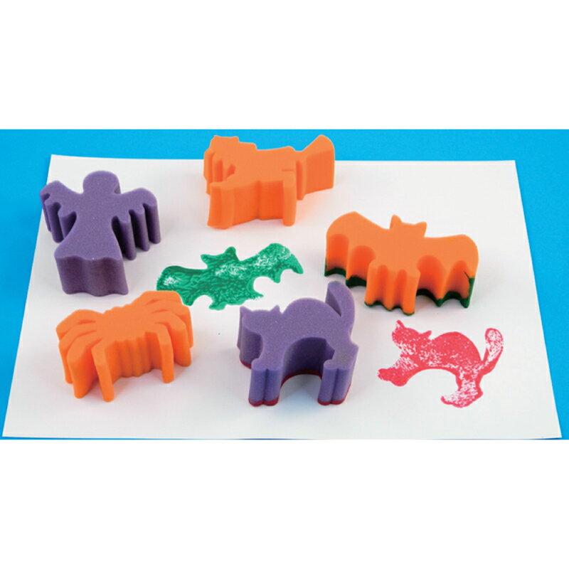 【華森葳兒童教玩具】美育教具系列-海綿印章-萬聖節主題 L1-AP/721/SPH
