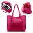 Women Tote Bag Tassels Leather Shoulder Handbags Fashion Ladies Purses Satchel Messenger Bags 7