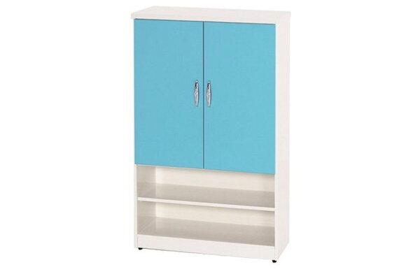 【石川家居】873-12(藍白色)鞋櫃(CT-310)#訂製預購款式#環保塑鋼P無毒防霉易清潔